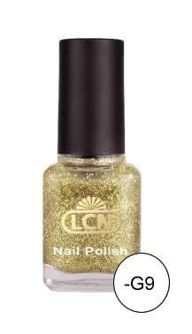 Smalti, 8 ml - gold glitter