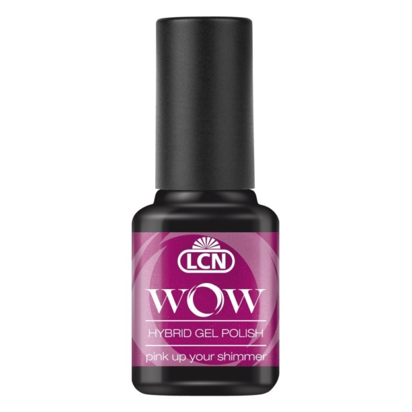 WOW Hybrid Gel Polish, 8 ml - pink up your shimmer