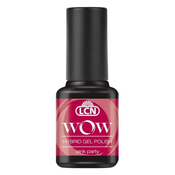 WOW Hybrid Gel Polish, 8 ml - pink party