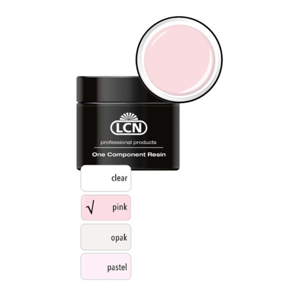 One Component Resin F Pink 100 ml
