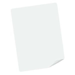 Pelle sintetica per esercitarsi (in bianco)