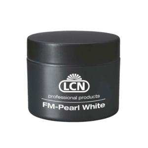 FM-Pearl White F - UV French Gel, 15 ml