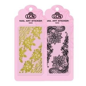 Sticker per unghie Nail art - black