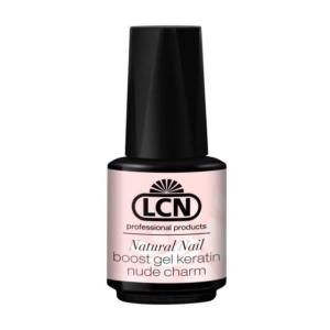 Natural Nail Boost Gel Keratin 10 ml - nude charm