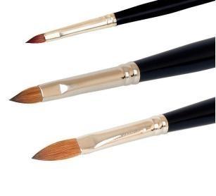 Pennello per il modellage acrilico Exclusive Line - Grandezza 10